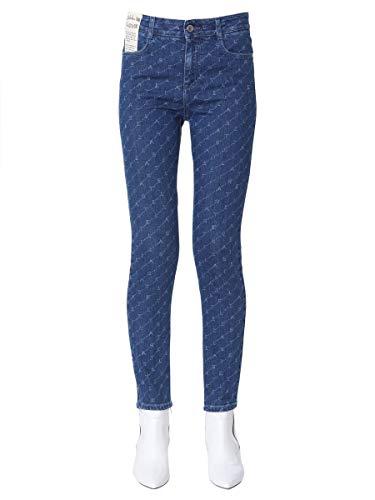 Femme Jeans Mccartney Stella Bleu 391883smh404401 Coton Fc3lKT1J