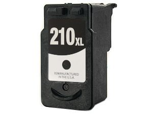 Generic  Remanufactured CANON Black PG210 PG-210 XL High Capacity Printer Ink Cartridge for Canon Printers PIXMA iP2702 MP240 MP250 MP270 MP280 MP480 MP490 MP495 MX320 MX330 MX340 Wireless MX350 Wireless (Mp240 Ink)