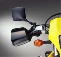 Set Deflector Air (Suzuki Dr-z400 Drz 400 Black Hand Guard Wind Air Deflectors Set 09 10 11 12 13)