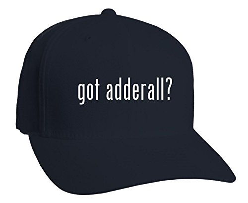 got adderall? Adult Baseball Hat, Dark Navy, Small/Medium