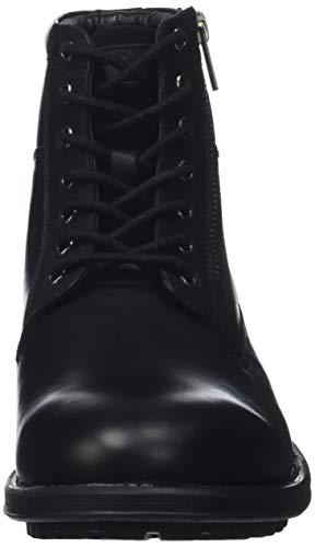 Homme Classiques Brok Noir 8 Bottes Noir Kickers Bottines et pwSO4q1