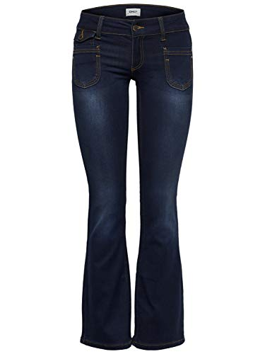 fonc Bootcut Femme Jeans Jeans Bleu Only Bleu qY0wC41