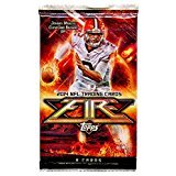 2014 Topps Fire Football Trading