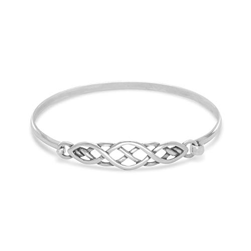 Crown Jewelry Celtic Bangle