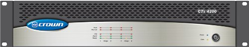 Amazon.com: Crown CTs 4200A Four-Channel Power Amplifier 180 watts per channel at 8 Ohms: Musical Instruments