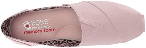 Skechers BOBS Women's Plush-Peace and Love Ballet Flat, Pnk, 7 M US by Skechers (Image #7)