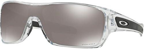 Oakley Men s OO9307 Turbine Rotor Rectangular Sunglasses