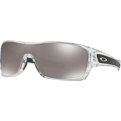 - Oakley Men's Turbine Rotor Sunglasses,One Size,Polished Clear/Prizm Black