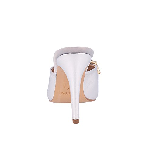 ROBERTO BOTELLA -  <p>             Sandale avec Garniture en Métal         </p>          - Couleur Silver - Taille 39 sY2243EA