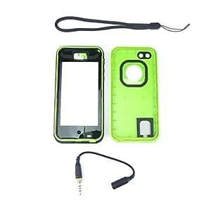 MOFY- nueva snowproof hermŽtico al polvo cubierta de la caja de protecci-n a prueba de golpes a prueba de agua para el verde 5c iphone