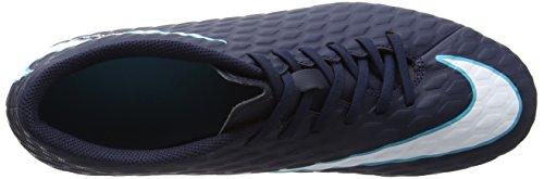Nike Herren Hypervenom Phade Iii Fg Fußballschuhe Mehrfarbig (Obsidian/white/gamma Blue/glacier Blue)