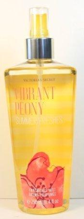 Spray Peony Body (Victoria Secret Vs Fantasies Vibrant Peony Summer Freshes Fragrance Body Mist)