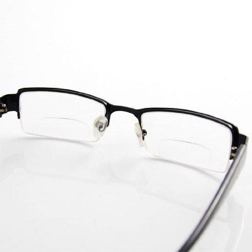 Excellent Bifocal Half-frame Reading Glasses +2.0 Photo #4