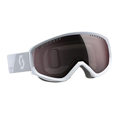 Scott Sports Faze Snow Goggle - 244591 (White Amplifier Silver Chrome)