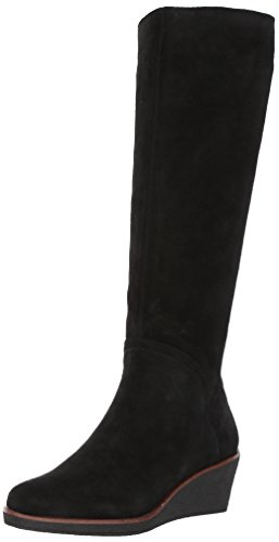 nocular Knee High Boot, Black Suede, 9 M US ()