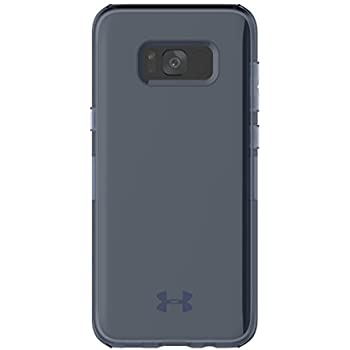 wholesale dealer bb886 f5ed6 Under Armour UA Protect Verge Case for Samsung Galaxy S8 - Translucent  Navy/Navy Logo