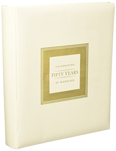 50th Anniversary Memory Book for 50th Wedding Anniversary Party 50th Anniversary Guest Book