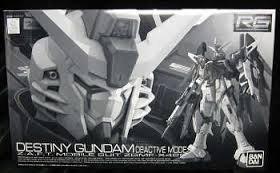 (Real Grade RG 1/144 Destiny Gundam Deactive Mode Limited Model)