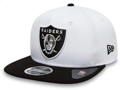 80b8c820bd4d09 New Era 9Fifty NFL Contrast Crown Oakland Raiders Team Colour Snapback Cap  (S-M)