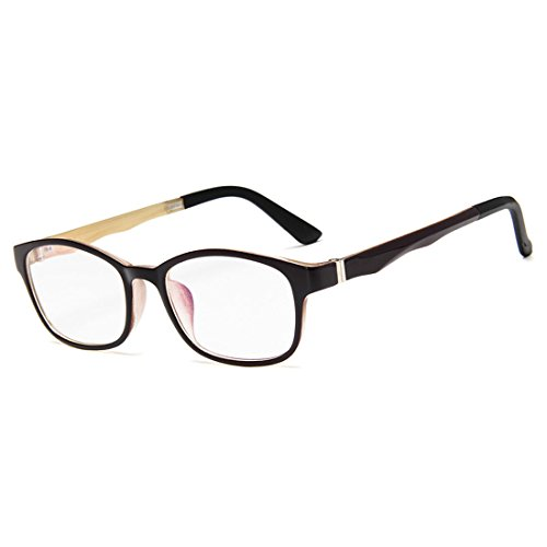 D.King Vintage Inspired Classic Rectangle Glasses Frame Eyewear Clear Lens - King 5 Sunglasses
