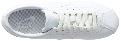 Bianco Wmns Donna Leather Cortez white Nike Scarpe Classic Running 0xwZdqS4