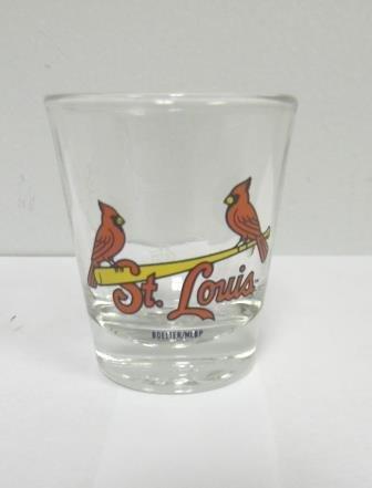(St. Louis Cardinals Logo Shot Glass - 1 oz.)