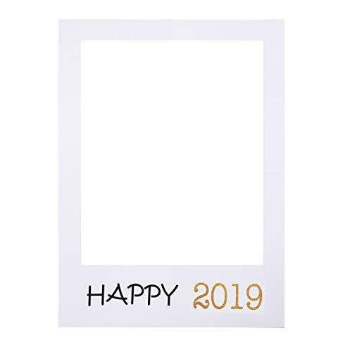 BESTOYARD DIY 2019新年 フォトフレーム 写真ブース 小道具 卒業式 記念日 パーティー用品