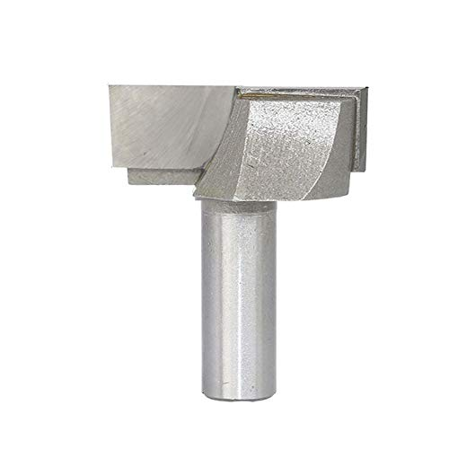 Cleaning Bottom Router Bit Cutter 2-Inch Cutting Dia 1/2-Inch Shank Double Flute Carbide ()