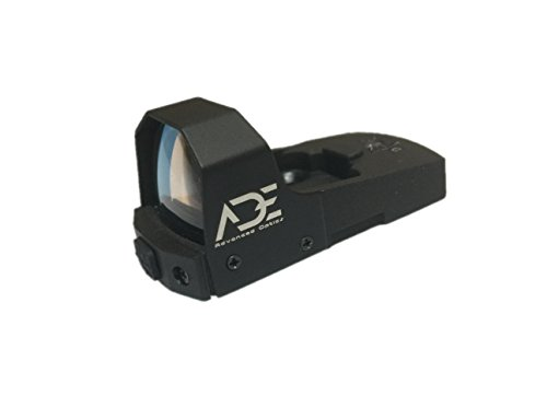 Red Sights Pistol Dot (Ade Advanced Optics Python Green Dot Micro Mini Reflex Sight For Handgun)