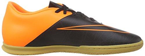 Nike Hypervenom Phade II IC Botas de fútbol, Hombre Negro / Naranja (Black/Black-Ttl Orng-Ttl Orng)