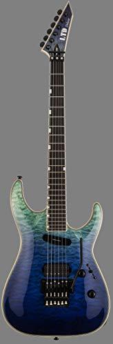 ESP 6 String Solid-Body Electric Guitar, Right (LMH1000HSVSHFD)