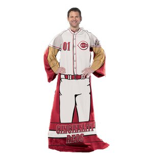 Official MLB Cincinnati Reds Uniform Adult Comfy Throw Cincinnati Reds Comfy Throw