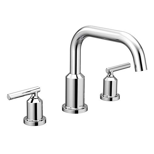 (Moen T961 Gibson Roman Tub Faucet without Valve, Chrome)