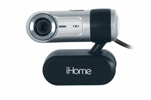 LIFE-TECH iHome MyLife Notebook Webcam - Silver (IH-W310NS)
