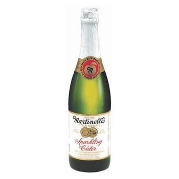 Martinellis Gold Medal Sparkling Cider (412446) 25.4 oz (Pack of 12)