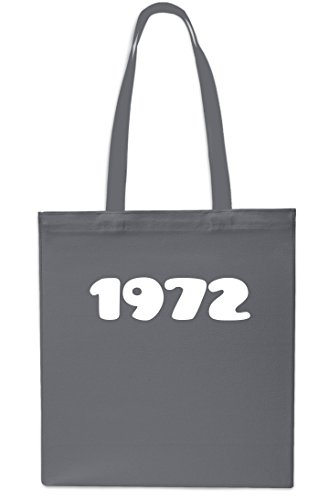 1972 litres SAPPHIRE Year 42cm Bag Gym Anniversary GREY x38cm Shopping Tote Beach 10 Birthday rrC7qwxP