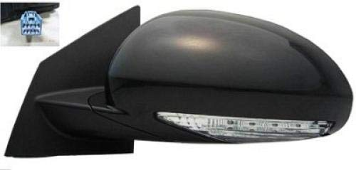 Go-Parts OE Replacement for 2008-2017 Buick Enclave Side View Mirror - Left (Driver) 25867090 - Drivers Side Buick Enclave Mirror