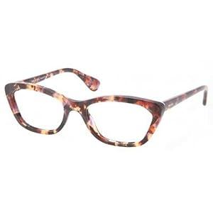 Prada PR03QV Eyeglasses-PDN/1O1 Spotted Havana Pink-52mm