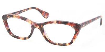 Prada PR03QV Eyeglasses-PDN/1O1 Spotted Havana - Eye Sunglasses Cat Prada Havana