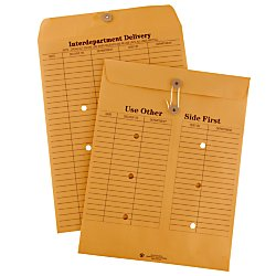 Office Depot(R) Brand Interdepartment Envelopes, 10in. x 13in, Brown, Box Of 100