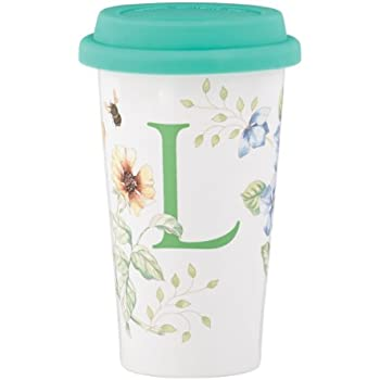 Amazon Com Lenox Butterfly Meadow Thermal Travel Mug 10