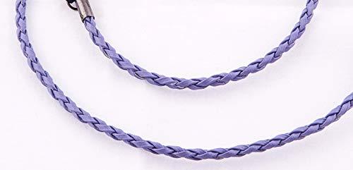Remaldi Glasses Neck Chain Optical Cord Safety Strap Specs Faux Leather Wharfe Lilac