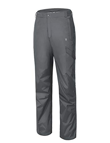 Seam Sealed Rain Pant - Little Donkey Andy Men's Lightweight Waterproof Golf Rain Pant Gray Size M