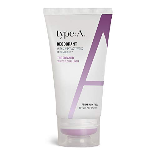 type:A Deodorant - Natural Active Ingredients, Aluminum Free Deodorants, Safe Non-Toxic Paraben Free, Non-Irritating, Clothing-Friendly, Cruelty-Free, Travel-Friendly (The Dreamer - White Floral) ()