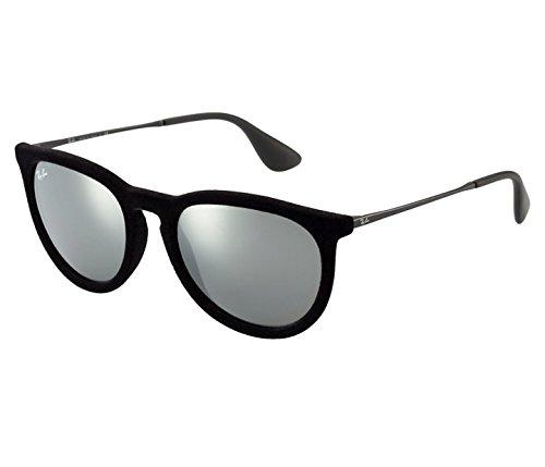 Ray-Ban Velvet Black Erika Sunglasses RB 4171 60756G 54mm + SD Glasses + - Erika Rb 4171
