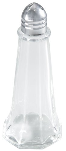 Winco 12-Piece Tower Shaker with Chrome Top, 1-Ounce