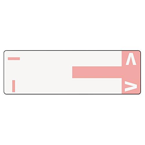 SMD67160 - Smead 67160 Pink AlphaZ NCC Color-Coded Name Label - I V