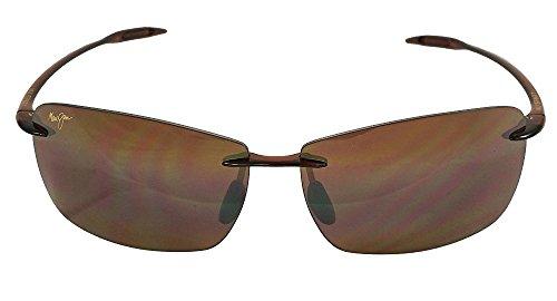 Maui Jim Sunglasses - Lighthouse / Frame: Rootbeer Lens: Polarized HCL Bronze