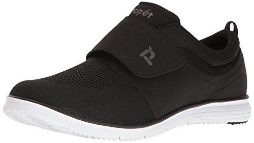 Propet Men's Travelfit Strap Walking Shoe, Navy, 8 3E US