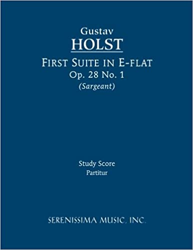 Book First Suite in E-flat, Op. 28 No. 1: Study score